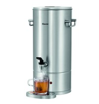 Bartscher Heetwaterdispenser zilver/zwart 9L | 2,8 kW/h | 305x350x490(h)mm