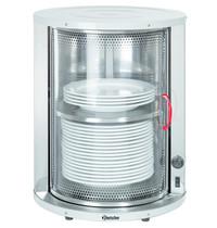 Bartscher Bordenwarmer CNS | Cap. 30 a 40 borden | 230V | 465x465x565(h)mm