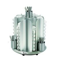 Bartscher Kopjesverwarmer  CNS | Cap. 48 kopjes | 230V | 360x360x415(h)mm