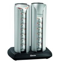 Bartscher Kopjesverwarmer T160 | 230V | Cap.  16 kopjes | 290x210x350(h)mm
