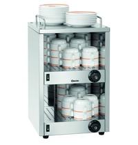 Bartscher Kopjesverwarmer TA720 | Cap. 72 koppen | 230V | 320x345x550(h)mm