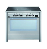 Bartscher Fornuis keramisch elektrisch 5 kookpitten   0,7/2,1 - 1,4/2,2 - 2,2 - 1,2 kW/h   Elektrisch oven 100L 2,5 kW/h   900x600x870(h)mm