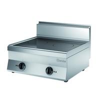 Bartscher Inductiefornuis B700 2 kookplaten | 2x 5kW/h | 700x650x295(h)mm