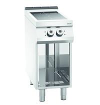 Bartscher Fornuis elektrisch inductie 00 2 kookplaten   2x 5 kW/h   Open onderstel   400x900x900(h)mm