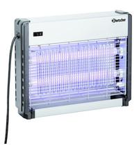 Bartscher Insectenverdelger zilver  IV-36 | 2x 10W UV-A TL buizen | 230V | 390x95x305(h)mm