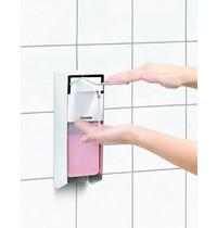Bartscher Zeepdispenser aluminium PS 0,9L | Een hands bediening | 95x222x330(h)mm