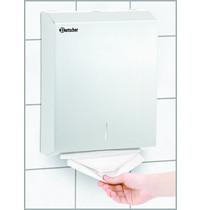 Bartscher Handdoekdispenser papier  CNS | Wandmontage | 285x100x370(h)mm