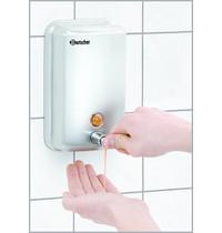 Bartscher Zeepdispenser wandmontage CNS 1L | Handmatig | 123x110x204(h)mm