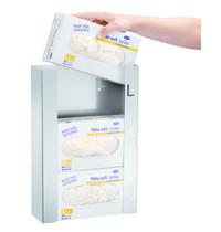 Bartscher Handschoendispenser K30 RVS | Inschuiven van de verpakking | 260x95x390(h)mm