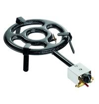 Bartscher Paella gasbrander 2K300 | Staal | 330x605x135(h)mm