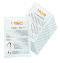 Bartscher Ontkalker B15-30 voor koffie machines   30 stuks a 15g   68x4x100(h)mm
