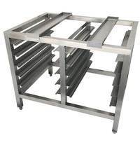 Bertrand Onderstel regelbaar voor oven   900x700x750(h)mm