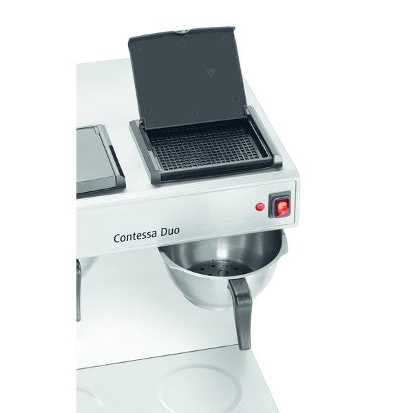 Koffiemachine Contessa Duo   2x 2 liter   2x 1,4 kW/h   430x400x520(h)mm
