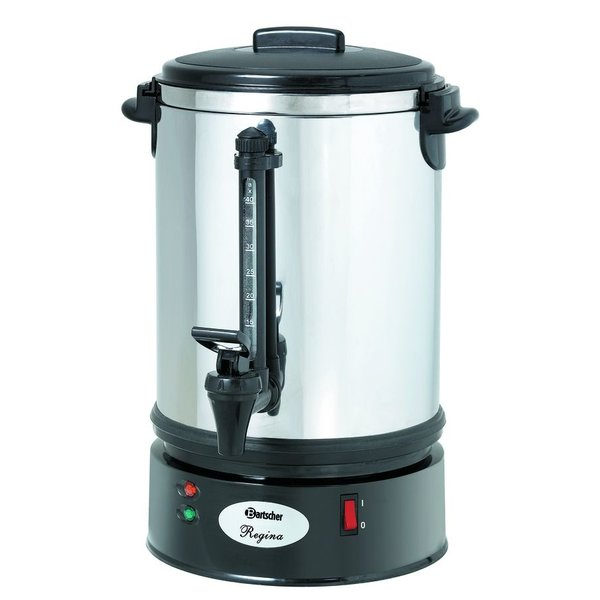 Koffiemachine Regina Plus 40T   3 liter   Cap. max 48 kopjes   1,2 kW/h   220x220x415(h)mm