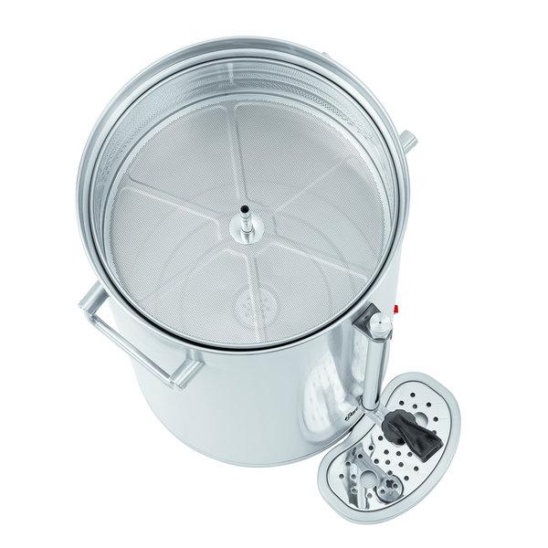 Koffiemachine Silver 1300 | 13,2 liter | Cap. max 100 kopjes | 1,45 kW/h | 370x360x533(h)mm