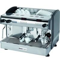 Bartscher Espressomachine Coffeeline G2plus | 11,5 liter + 2x 1,5 liter | 2 groepen | 3,3 kW/h | 677x580x523(h)mm