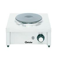 Bartscher Kookplaat elektrisch 1K2000 | 1 kookpit | 2 kW/h | 375x365x185(h)mm