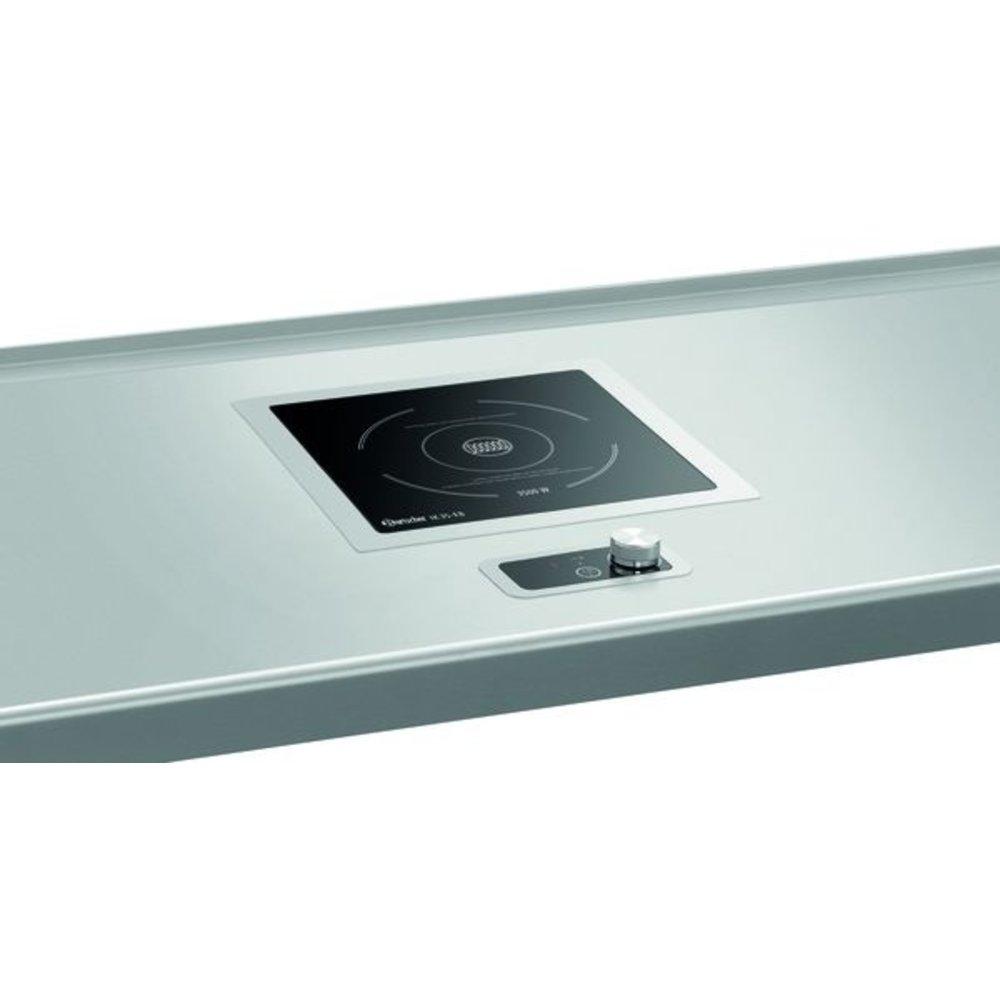 Inductie kookplaat IK 35 EB   3,5 kW/h   Glas kookplaat   370x390x118(h)mm