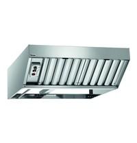 Bartscher Condensatiekap Silversteam met motor | 800  m³/h tot 1500  m³/h | 870x950x300(h)mm