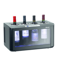 Bartscher Wijnkoelkast kunststof thermo-elektrisch | Cap. 4 flessen | 480x260x260(h)mm