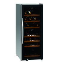 Bartscher Wijnkoelkast 2Z | 113 liter | 15 flessen boven - 23 flessen onder | 230V | 396x580x1030(h)mm