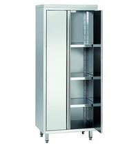 Bartscher Servieskast RV 2 deuren   3 tussenschappen verstelbaar   800x600x2000(h)mm