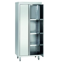 Bartscher Servieskast RV 2 deuren | 3 tussenschappen verstelbaar | 800x600x2000(h)mm