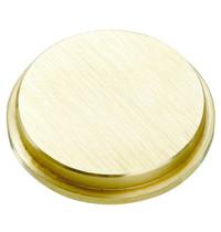 Bartscher Afsluitklep pastamachine Brons | 55x55x9(h)mm