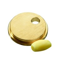 Bartscher Pastamatrijs Brons voor Gnocchi Ø12mm | 55x55x10(h)mm