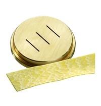 Bartscher Pastamatrijs Brons voor Pappardelle 16 mm | 55x55x10(h)mm