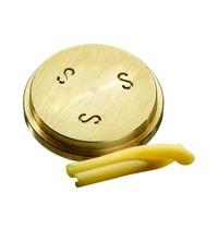 Bartscher Pastamatrijs Brons voor Caserecce 9x5mm | 55x55x10(h)mm