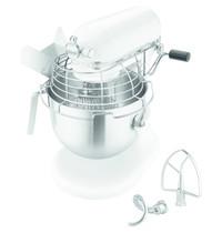KitchenAid Spiraalmixer wit 6,9L | Vaste komt | 230V | Komlif | 287x371x417(h)mm