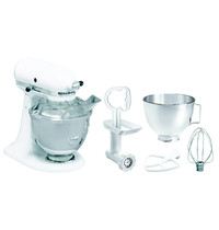 KitchenAid Spiraalmixer wit 4,28L | Kantelbare motorkop + Afneembare kom  | 230V | 358x221x353(h)mm