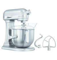 KitchenAid Spiraalmixer zilver 6,9L | Vaste kom | 230V | 287x371x417(h)mm