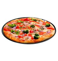 Bartscher Pizza-bakblik 290-R | Voor pizza Ø29cm | 325x325x10(h)mm