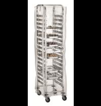 Bartscher Afdekhoes transparant AGN1800-1/1 | 4 ritssluitingen | 630x465x1745(h)mm
