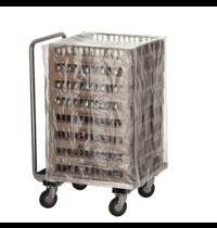 Bartscher Afdekhoes TGS100-8 | 2 ritssluitingen | 535x555x815(h)mm