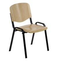 Luxus Multiplex stapelbare stoel beuken | Zithoogte 43cm