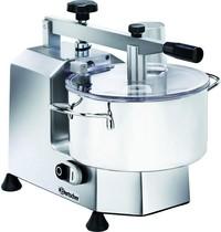 Bartscher Cutter aluminium/polycarbonaat | 3 liter | 230V | Dubbel mes | 400x320x320(h)mm