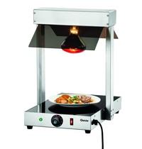 Bartscher Warmtebrug I1WL400  | 1 infraroodlamp | 230V | 380x555x560(h)mm