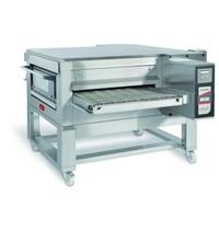 Zanolli Lopendeband elektrische pizza oven RVS   44,9 kW/h   100cm band   1820x2450x720/1190(h)mm