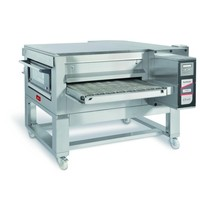 Zanolli Lopendeband elektrische pizza oven RVS | 44,9 kW/h | 100cm band | 1820x2450x720/1190(h)mm