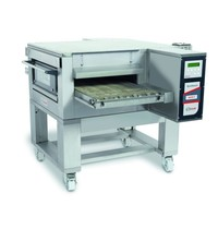 Zanolli Lopendeband gas pizzaoven RVS   13,9 kW/h   50cm band   1260x1750x490x1070(h)mm