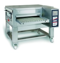 Zanolli Lopendeband gas pizzaoven RVS   24kW/h   65cm band   1560x2000x550/1110(h)mm