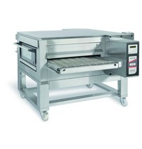 Zanolli Lopendeband gas pizzaoven RVS   30 kW/h   80cm band   1670x2150x590/1150(h)mm