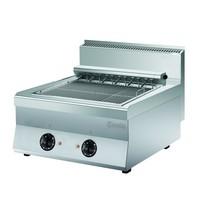 Bartscher Bakplaat/Grillplaat elektrisch 650 | 8,16 kW/h | 800x650x2995(h)mm