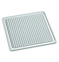 Bartscher Grillplaat gietijzer 900-R | 390x390x17(h)mm
