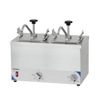 Casselin Sausdispenser | 2x 1/6 GN | 40°C - 70°C | 413x320x355(h)mm