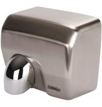 Casselin Handdroger RVS met draaibare mondstuk | 2,5 kW/h | Droogtijd 15 sec | 270x200x240(h)mm