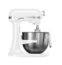 KitchenAid Mixer wit 6,9L | 500W | Met vaste kom | 270x390x420(h)mm